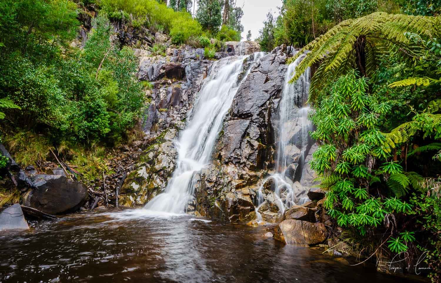 Stevenson's Falls, just outside of Marysville