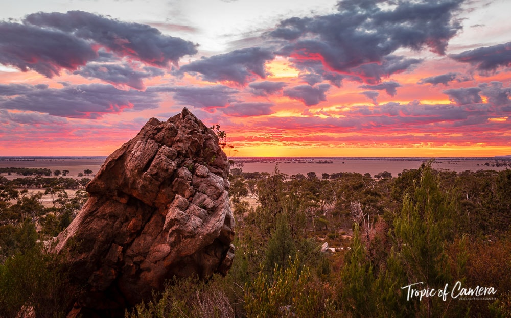 Sunrise over Mt Arapiles