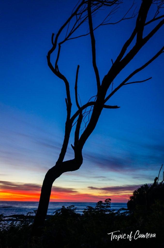 Sunrise at Blanket Bay on the Great Ocean Walk Australia