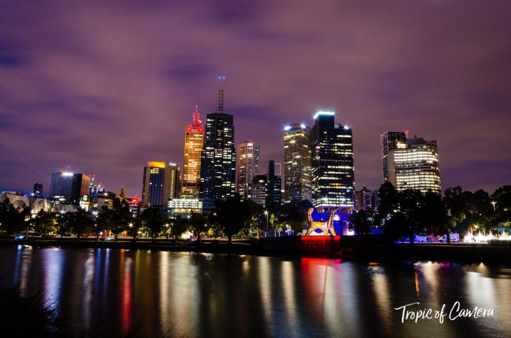Melbourne at sunrise, Australia