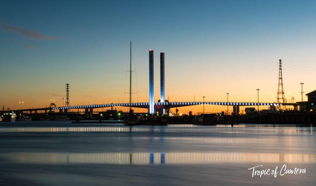 Docklands at Sunset, Melbourne