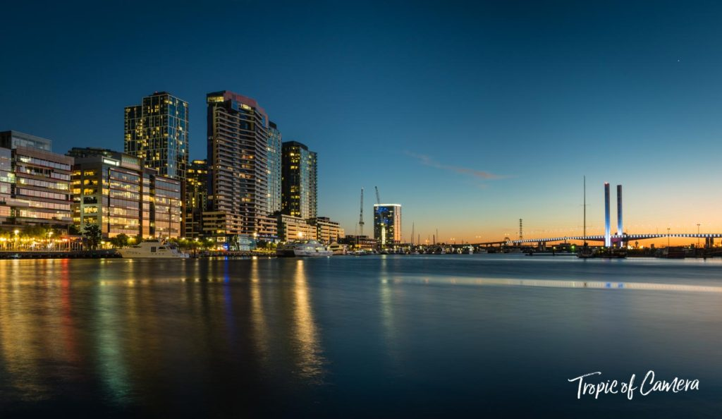 Docklands at Sunset, Melbourne