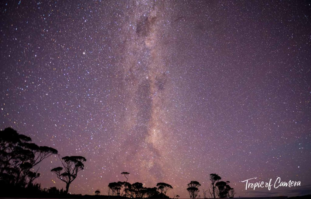 Astrophotography of the Milky Way on the Overland Track, Tasmania Australia