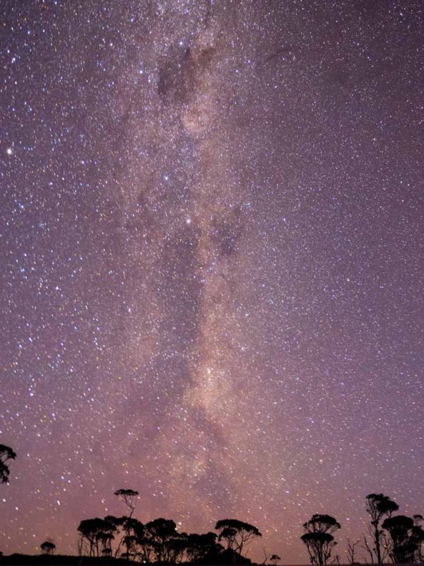 Astrophotography of the Milky Way on the Overland Track, Tasmania Australia