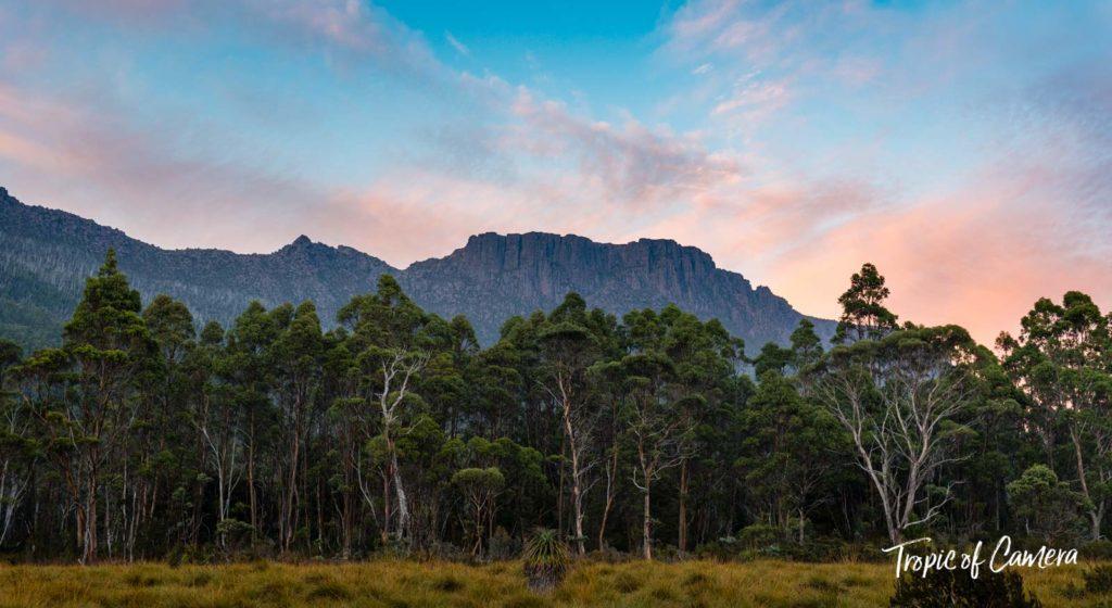 Sunset on the Overland Track, Tasmania Australia