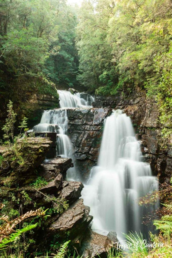 Waterfall on the Overland Track, Tasmania Australia