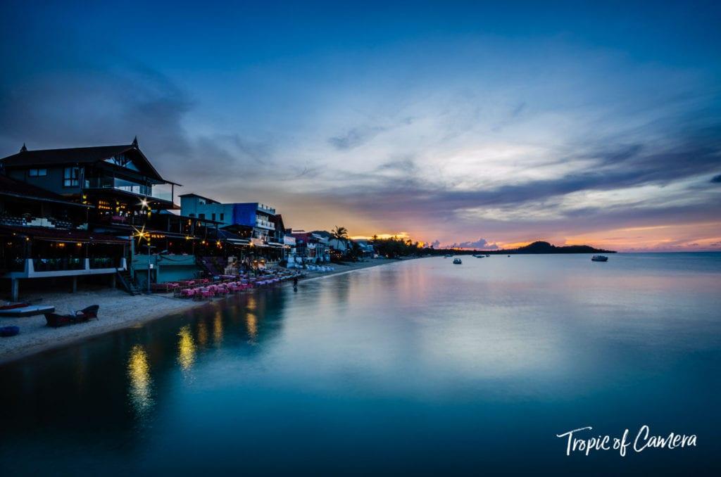 Sunset at Koh Samui, Thailand
