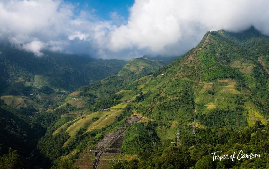 Mountains of Sa Pa, Vietnam