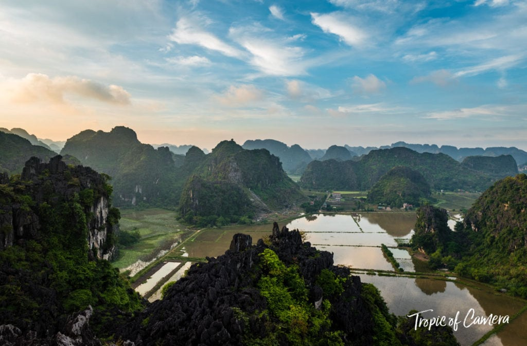 Ninh Binh at Sunset, Vietnam