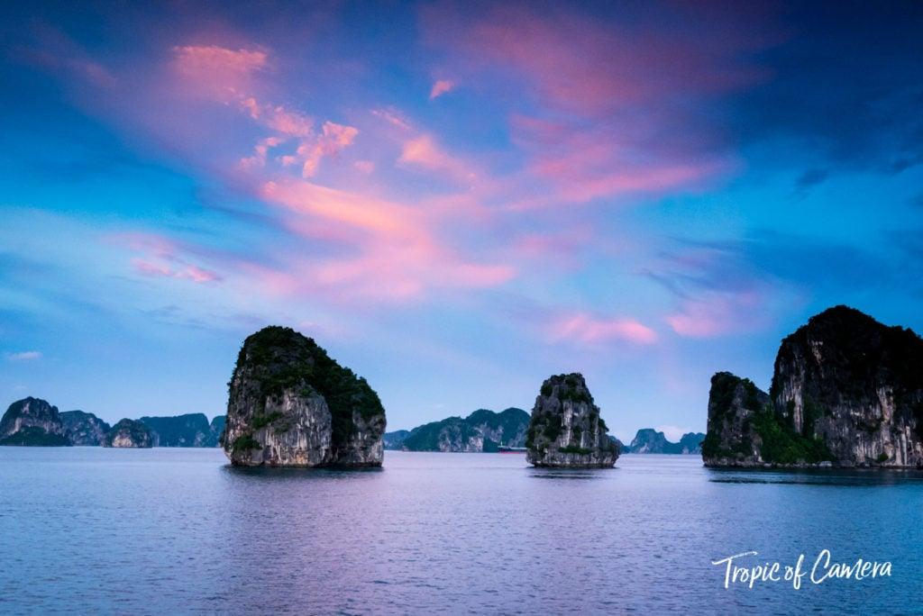 Ha Long Bay at Sunset, Vietnam