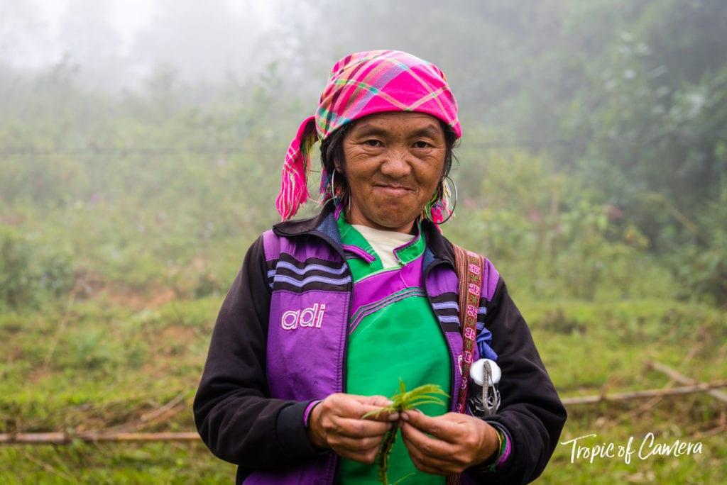 Mama Su, a Hmong Tribeswoman in Vietnam