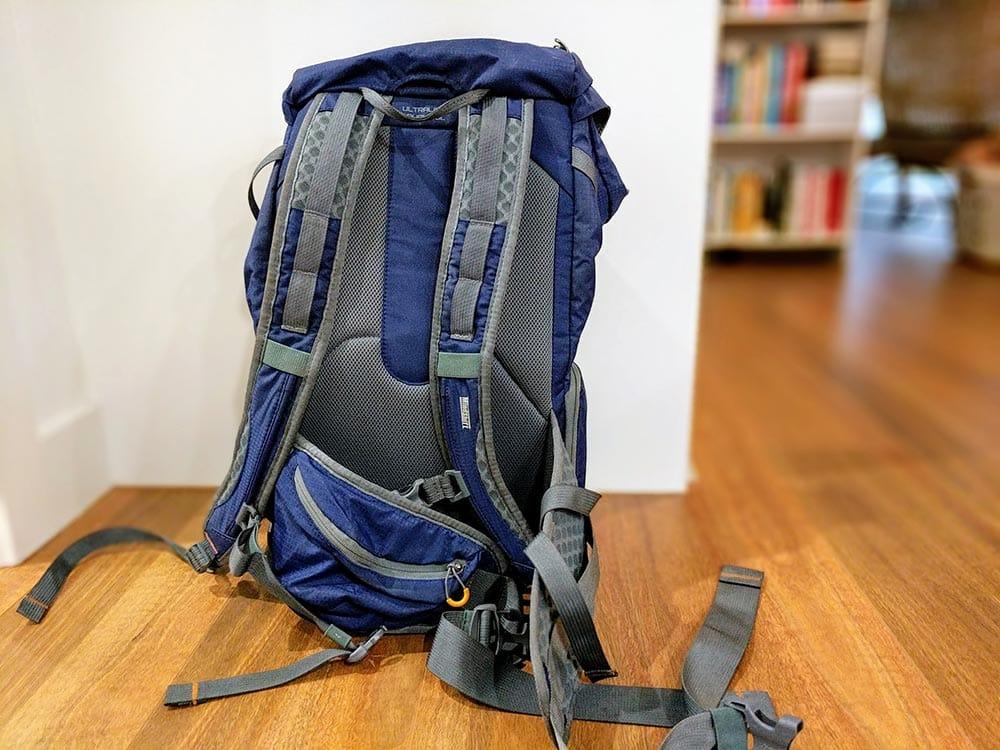MindShift Ultralight Dual 25L Camera Bag back straps