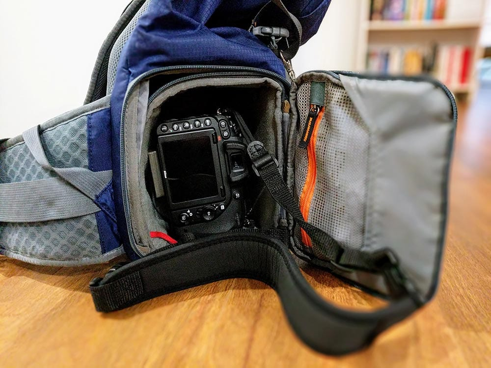 MindShift Ultralight Dual 25L Camera Bag Internal Camera compartment