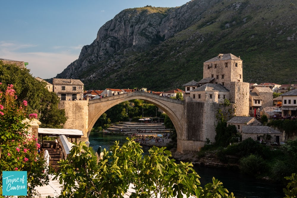 The old bridge in Mostar