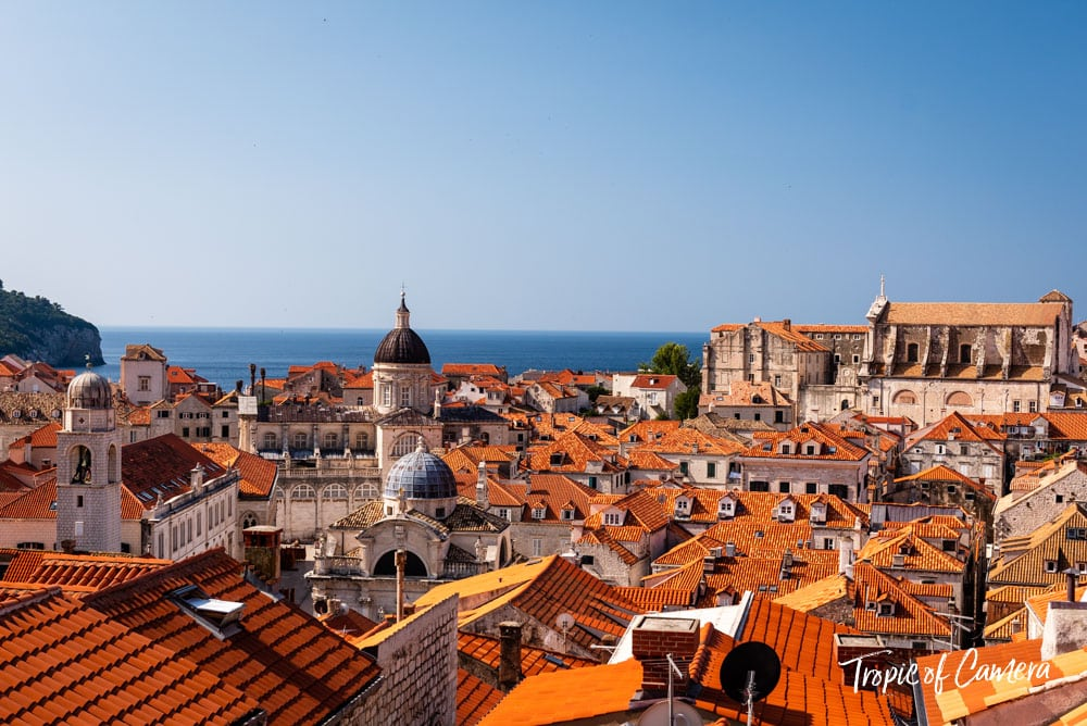 View from the old walls, Dubrovnik, Croatia