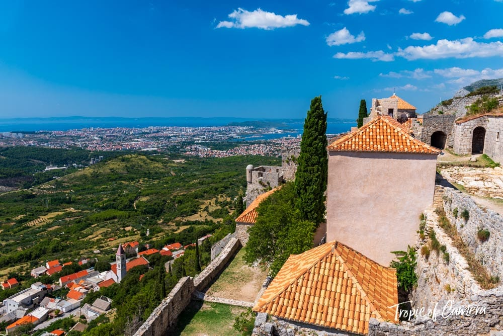 The Fortress of Klis near Split, Croatia