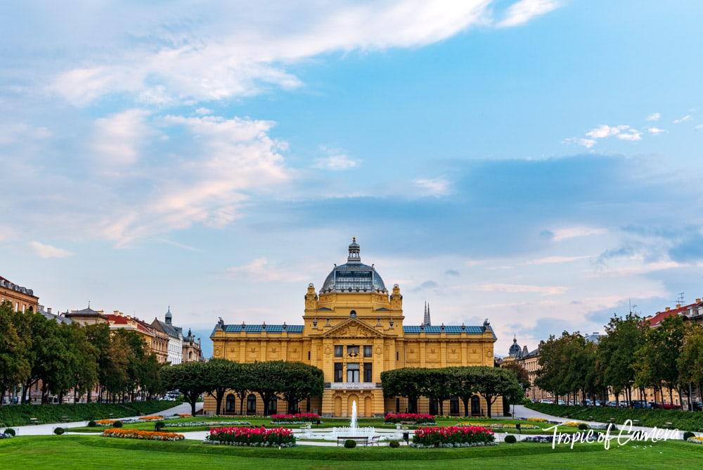 Art Gallery in Zagreb, Croatia