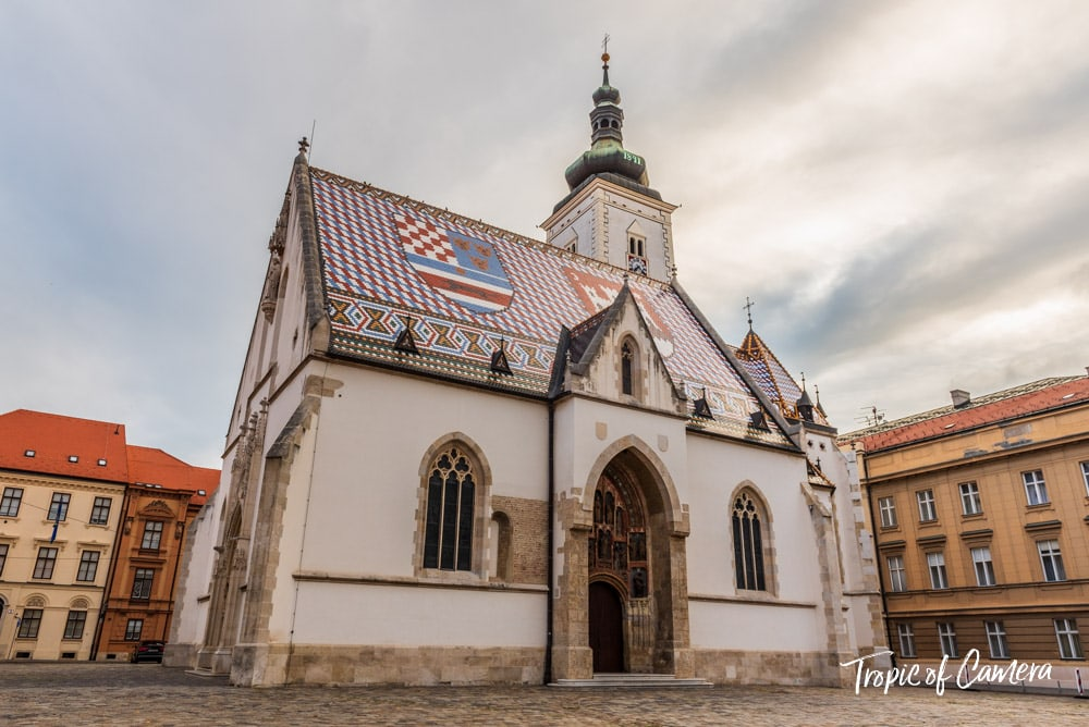 St Marks Church in Zagreb, Croatia