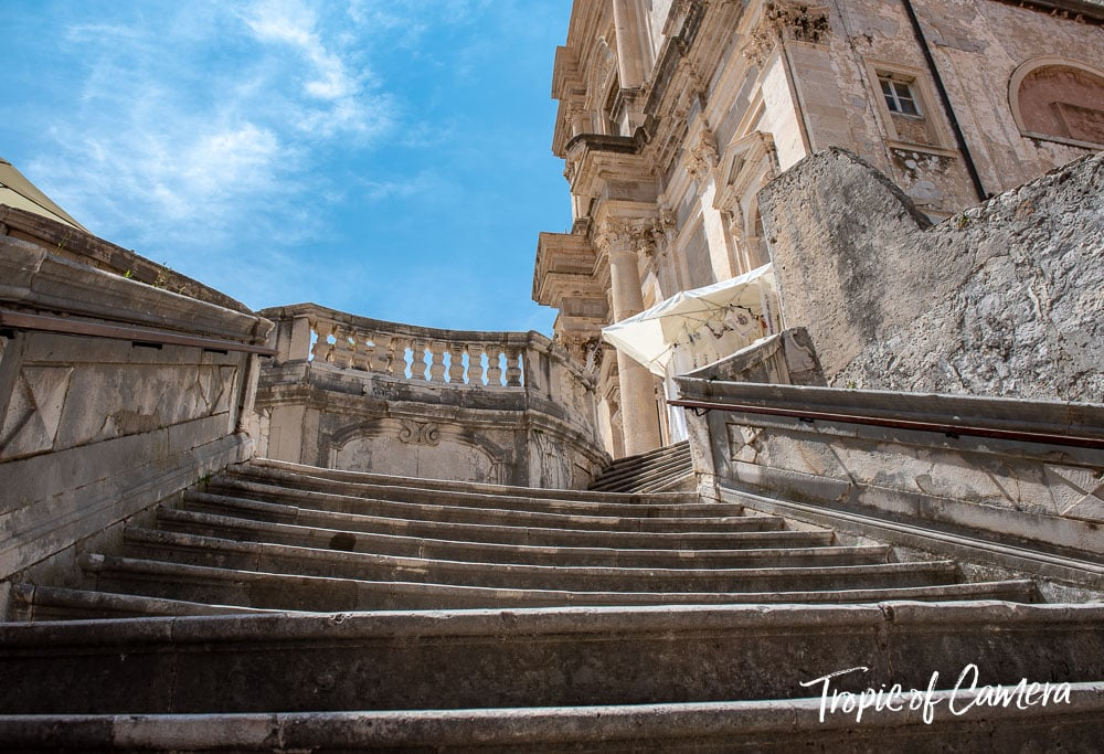 Steps in Dubrovnik used as filming for Game of Thrones