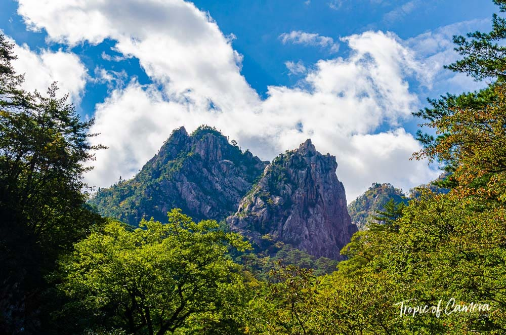 Mountains in Seoraksan National Park