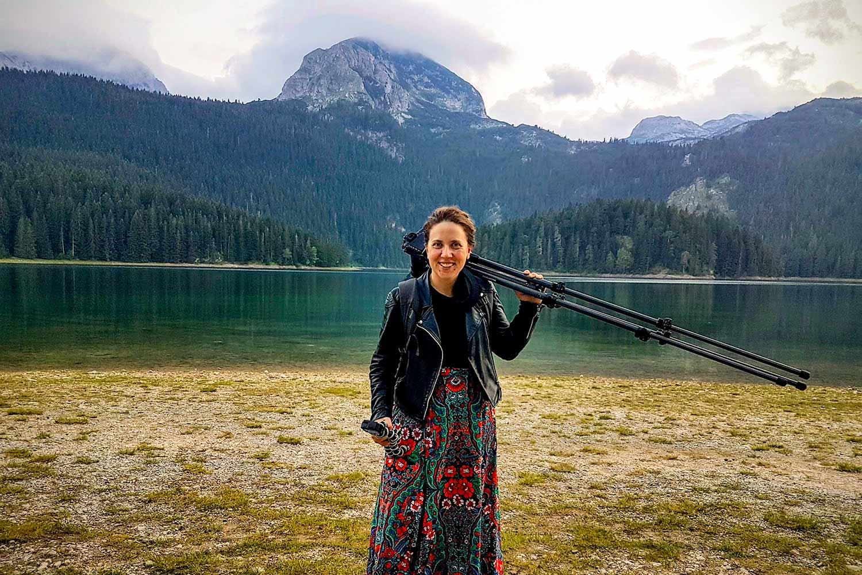 Photographer Kat Clay in Montenegro