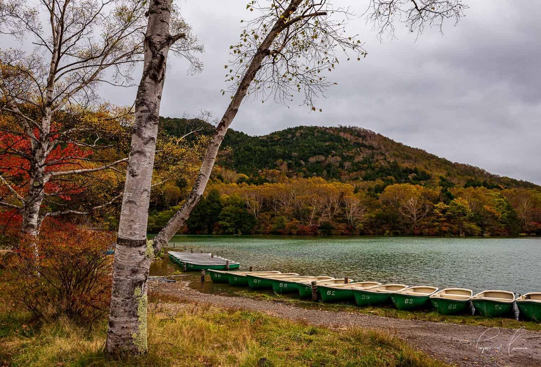 Lake Yunoko in Nikko, Japan